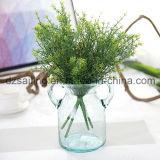 Пластмасса выходит цветок Aritificial для венчания/украшения домашних/сада (SF16297)