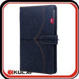 Tela de encargo Jean/cuadernos de la carpeta del dril de algodón