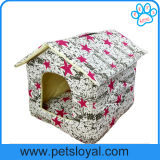 Fábrica Atacado Lavável Pet Bed Dog House