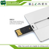 USB libre Flash Drive de Sample 8GB Credit Card