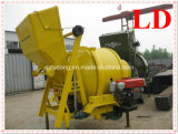 Tipo hidráulico misturador concreto de motor diesel (JZR350)