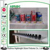 Supermercado de plástico estante empujadores y divisores para el cigarrillo
