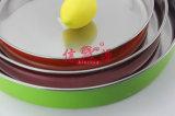 Bandeja do bolo da pintura com pistola do aço inoxidável (FT-0638)