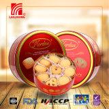 Casse-croûte croquants délicieux de la meilleure qualité de casseur de biscuit de biscuits de beurre de Dannish