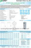 batería profunda larga Telecom solar de Opzv del gel del ciclo 2V800ah