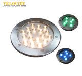 Cambiamento subacqueo di colore chiaro dell'acciaio inossidabile LED
