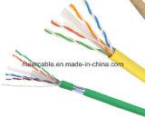 Câble bon marché de réseau de la qualité CCA UTP CAT6 des prix