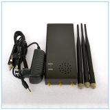 Jammers сигнала WiFi высокого качества самые лучшие, Jammer полосы RC квада наивысшей мощности портативный с заряжателем автомобиля (868MHz/315MHz//433MHz)