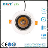 PFEILER LED Downlight vertiefte LED Decken-Lampe der Punkt-Beleuchtung-25W 3 Jahre Garantie-