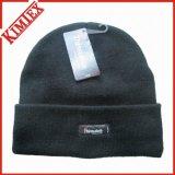 Chapeau tricoté acrylique unisexe d'hiver de promotion