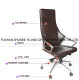 Chaise pivotante en aluminium d'unité centrale de base avec le coussin arrière