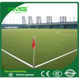 Synthetische Gras van de Voetbal van de citroen het Groene