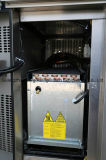 Réfrigérateur de banc d'acier inoxydable avec du ce