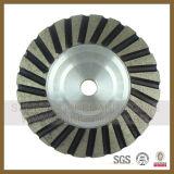 Этап Turbo колеса чашки солнечного диаманта меля (SY-DCW-002)