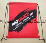 Constructeur professionnel de sac non tissé de sac à dos de cordon de pp