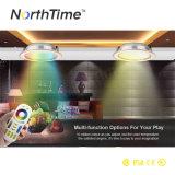다채로운 아래로 RGBW LED 가벼운 12W 무선 WiFi 통제