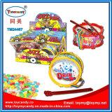 Игрушка пластичного барабанчика джаза установленная с подарком промотирования конфеты хорошим