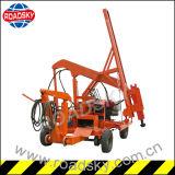 Máquina hidráulica de la instalación de la barandilla del metal de la carretera