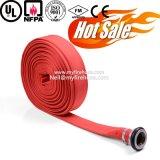 Boyau flexible utilisé par coton d'arroseuse d'incendie de toile de 1 pouce