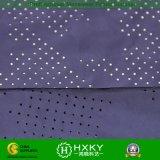 Покрашенная равниной Perforated ткань полиэфира для куртки или подкладки