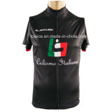 Poliestere 100% Customized Cycling Jersey con l'Italia Kiian Ink