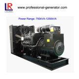 Generador de energía de poco ruido 50Hz/60Hz 900kVA/720kw diesel