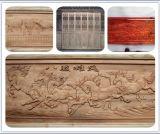 Haut couteau en bois de découpage en bois de commande numérique par ordinateur de machine de la précision 3D