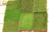 كلاسيكيّة 4 ألوان يرتّب اصطناعيّة عشب سجادة لأنّ حد