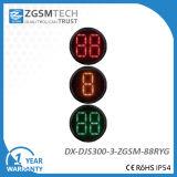 Indicatore luminoso rosso del segnale stradale di verde giallo di 2 di Digitahi di conto alla rovescia colori del temporizzatore 3 per il diametro 300mm del rimontaggio