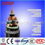 cabo blindado 3X95mm do fio de aço de cabo 11kv de cobre