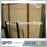 Opgepoetste Room/Gele/Beige Marmeren Plakken voor de Tegels van de Vloer
