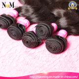 Выдвижение человеческих волос девственницы волнистых волос 100% Unprocessed естественное Weft оптовое филиппинское