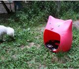 Casa de cão 2016 interna plástica luxuosa barata por atacado quente para a venda