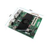 Cartão-matriz industrial do Mini-Itx da visualização óptica do processador central 4DVI 4 de AMD R-272f com 4COM