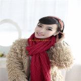 2016 nuova signora Fashion Winter Wool \ fabbrica della sciarpa lavorata a maglia modo acrilico
