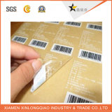 Das Verpacken u. Drucken kundenspezifisch sind, imprägniert Kennsatz-selbstklebenden runden Papieraufkleber