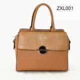ZexinはDecorative Wardware PU Fashion Crossbody Handbag Zxl001によってファスナーを絞めるFlap