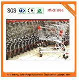 Surface de chrome de chariot à main en métal de chariot à magasin au détail de système de supermarché en stock 200 PCS &#160 ; Grandes promotions