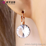Copper Alloyの28666新しいFashion Elegant Crystal Jewelry Earring Hoop
