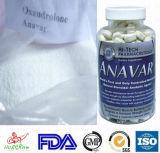 Остановите мышцу расточительствуя стероиды Anavar анаболитного стероида