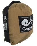 Hamac campant de voyage respirable en soie portatif ultra-léger de parachute de Goodwin. Cordes et Carabiners Included. Grande idée de cadeau