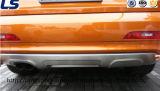 Protecteur butoir avant/arrière d'acier inoxydable pour Audi Q3 2013+