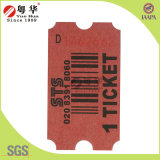 Lotería Game Machine Ticket, Raffle Ticket para Arcade Redemption Games, Serial Numbering Tickets
