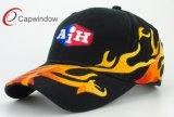 bordado 3D del algodón de la gorra de béisbol que compite con fresca