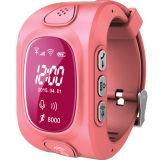 Neue Kind-Uhr androider IOS Anti-Verlorener sicherer mini intelligenter GPS-Verfolger Wt50-Ez