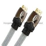 Hochgeschwindigkeitsmetall HDMI ein Mann zu HDMI ein männliches Kabel mit Ethernet