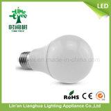 Bombilla LED de 3W caliente 5W del bulbo 7W 9W 12W E27 B22 LED de aluminio plástico