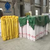 Bâche de protection de haute résistance de PVC pour la couverture