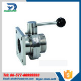 304/316L Sanitary Stainless Steel Butterfly Valve (DYT-01)