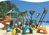 Campo da giuoco di plastica commerciale della sosta residenziale favorita dei bambini di serie Kq60016A di navigazione del mare di Kaiqi
